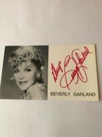 Beverly Garland Hand Signed Photo Autograph 10x15 Cm - Fotos Dedicadas
