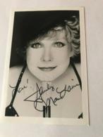 Shirley Mc Laine Photo Autograph Hand Signed 10x15 Cm - Fotos Dedicadas