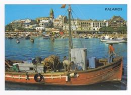 Cataluna Gerona Palamos Costa Brava N°2278 Port Pêcheurs Bateaux Gros Plan - Gerona