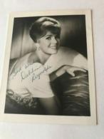 Debbie Reynolds Photo Autograph Hand Signed 10x15 Cm - Fotos Dedicadas