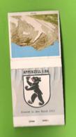 Pochette D'allumettes - Appenzell Rhodes Intérieures. Canton Suisse. Le Säntis. - Matchboxes