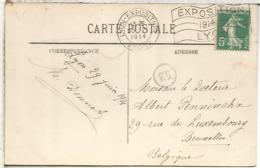 FRANCIA TP CONMMAT 1914 LYON EXPOSITION - Francia