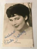Monika Dahlberg Photo Autograph Hand Signed 10x15 Cm - Fotos Dedicadas
