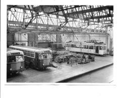 Merksem - Stelplaats Van Tram En Bus. (8 Foto's 17,5x13cm) - Antwerpen