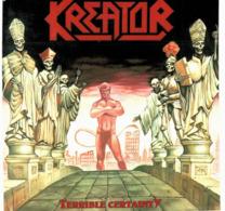 CD N°2431 - KREATOR - TERRIBLE CERTAINTY - ALBUM 8 TITRES - Hard Rock & Metal