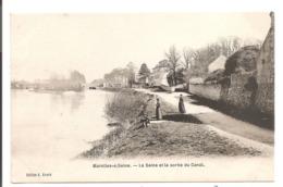 77 - MAROLLES SUR SEINE. La Seine Et La Sortie De Canal. - France