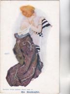 CPA - ILLUSTRATEUR - Raphael KIRCHNER- MA MARRAINE - Edit Bruton Galleries - Kirchner, Raphael