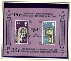 CAYMAN ISLANDS - 1975 Easter Miniature Sheet Unmounted/Never Hinged Mint - Cayman Islands