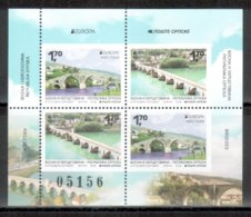 Bosnien-Herzeg. (serbisch) / Bosnia-Herzegowina (serbian) / Bosnie-Herzegovine 2018 HB/sheetlet From Booklet EUROPA ** - 2018