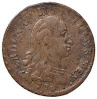 NAPOLI  Ferdinando IV Di Borbone Primo Periodo, 1759-1799 Grano 1790  Mont. 288 NC CU Sigle P C-C Bel Bb+ D.601 - Monedas Regionales