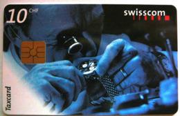 10 CHF - Clock - Zwitserland
