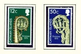 CAYMAN ISLANDS - 1975 Christmas Set Unmounted/Never Hinged Mint - Cayman Islands