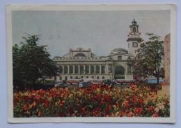 MOSKVA MOSCOW KIEV RAILWAY STATION KIEVSKY WOKZAL USSR 1964 - Russia