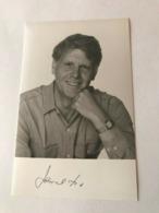 James Fox Photo Autograph Hand Signed 10x15 Cm - Fotos Dedicadas