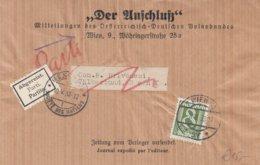 Austria - 1938  Sondertarif Zeitung Nach Genf (Völkerbund) - Societe Des Nations - 1918-1945 1st Republic