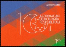 2018Azerbaijan 1376100 Years Of The First Azerbaijan Republic - Aserbaidschan