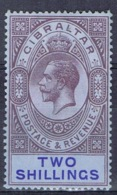 DO 15063 GIBRALTAR SCHARNIER YVERT NRS 82 ZIE SCAN - Gibraltar