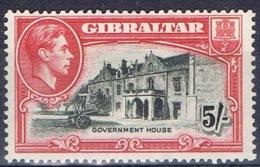 DO 15064 GIBRALTAR SCHARNIER YVERT NRS 112 ZIE SCAN - Gibraltar