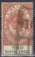 DO 15065 GIBRALTAR GESTEMPELD YVERT NRS 83 ZIE SCAN - Gibraltar
