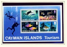 CAYMAN ISLANDS - 1977 Tourism Miniature Sheet Unmounted/Never Hinged Mint - Cayman Islands