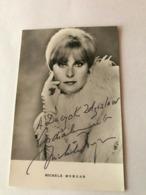 Michele Morgan Photo Autograph Hand Signed 10x15 Cm - Fotos Dedicadas