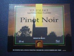 Pinot Noir D'Alsace - Cave Des Vignerons De Turckheim - Etiquettes