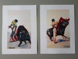 Affiche Tauromachie : Gitanillo De Triana Et Pepin Martin Valquez & - Posters