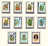 CAYMAN ISLANDS - 1980 Definitives No Date Imprint Set Unmounted/Never Hinged Mint - Cayman Islands