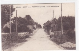 Jura - Mont-sous-Vaudrey - Rue Principale - France