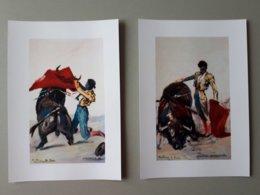 "Affiche Tauromachie : Manolo ""Bienvenida"" Et Valencia II & - Posters"