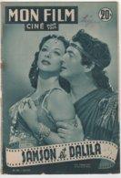 REVUE CINEMA MON FILM  SAMSON ET DALILA AVEC HEDY LAMARR ET VICTOR MATURE N° 283 1952 - Cinéma