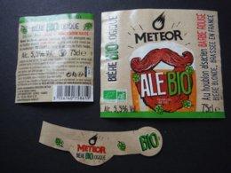 Alsace - Bière Météor Bio - 75 Cl - Houblon Alsacien Barbe Rouge - Beer