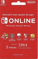 PORTUGAL - Nintendo Switch Online Card - Kartenspiele (traditionell)