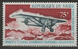 Niger YT PA 184 XX / MNH Lindbergh Aviation - Niger (1960-...)