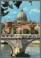 °°° Cartolina - Basilica Di S. Pietro Dal Lungotevere Viaggiata °°° - San Pietro