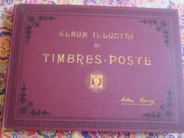 ALBUM ILLUSTRÉ De TIMBRES-POSTE Arthur Maury -1911- + De 1000 Timbres Anciens & (semi ) Modernes - Sammlungen (im Alben)