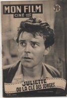 REVUE CINEMA MON FILM JULIETTE OU LA VIE DES SONGES AVEC GERARD PHILIPE N° 288 1952 - Kino