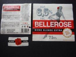 Nord - Bière Blonde Extra Bellerose - 75 Cl - Brasserie Des Sources - Bière