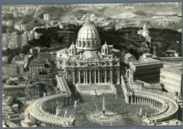 °°° Cartolina - Basilica Di S. Pietro E Città Del Vaticano Viaggiata °°° - San Pietro