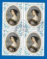 2019 - Bloc De 4 Madame De MAINTENON 1635/1719 - France