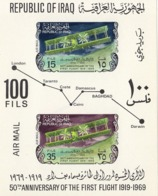IRAQ Block 17,unused,airplanes - Irak