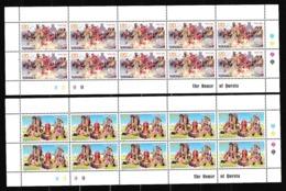 1998 Armenia EUROPA CEPT EUROPE 10 Serie Di 2v. In 2 Minifogli MNH** 2 Minisheets - Europa-CEPT