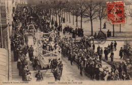 S42-011 Brest - Cavalcade Du 5 Avril 1908 - Brest