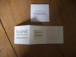 Carte Chanel Gabrielle A/patch - Modernas (desde 1961)