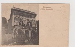 Fivizzano (MC) Villa Cozzani - F.p. - Anni '1900 - Carrara