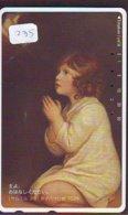 Télécarte Japon * PEINTURE * ICÔNE RELIGIEUSE * IKOON * VIERGE MADONE * ART (235) Japan * Phonecard  KUNST TELEFONKARTE - Peinture