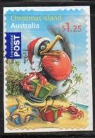 Y1288 - CHRISTMAS ISLAND , Usato USED 2008 $1.25 (2380A) Autoadesivo - Christmas Island