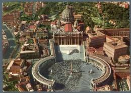 °°° Cartolina - Città Del Vaticano Veduta Aerea Viaggiata °°° - San Pietro