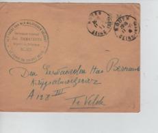 PR7479/ Lettre En S.M. Armée Belge C.Rouen 1915 + C.J.Ramaekers Député Fonds Soldat Belge > A 128 III Velde C.PMB-BLP - Armée Belge