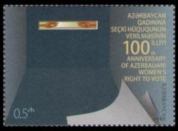 2018Azerbaijan 1379100 Years Of Women's Suffrage In Azerbaijan - Aserbaidschan